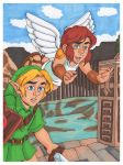 Link and Pit Kids by Jaymzeecat