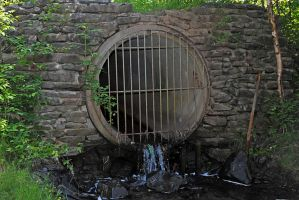 sewer by LucieG-Stock
