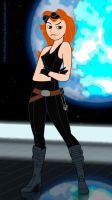 Kim Possible as Mara Jade 2 by FitzOblong