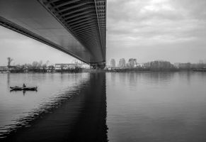 Under the bridge 2 (Symmetry) by MilanNikolaPetrovic