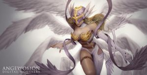 Angewomon by lorenzbasuki