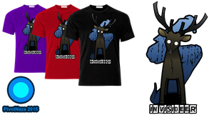 Merchandise - Invicideer T-shirt. Male by PivotNazaOfficial