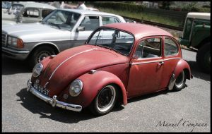 1966 Volkswagen Beetle Rat by compaan-art