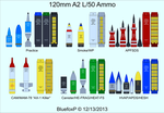 120mm A2 L/50 Ammo by BluefoxP