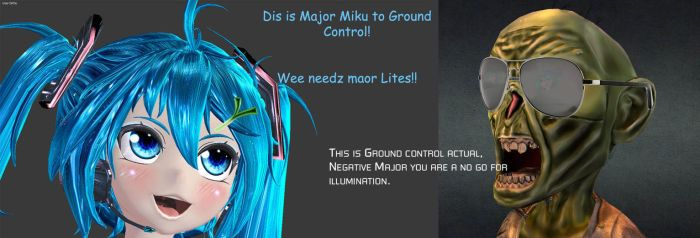 Major Miku to Ground Control by Primantis