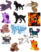 Breedable Females (Open) by Empowered-Heroine