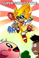Super Sonic style by miitoons