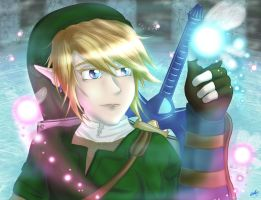 TP Link and Navi by Hyrulekeyblade