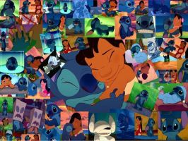 Lilo and Stitch Wallpaper by danielnewton
