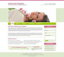 Medical Spa Template by hussain-designer