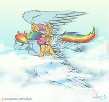 Far from the Ground by InuHoshi-to-DarkPen