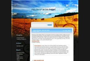 Fields of Muse WordPress theme by Loreleike