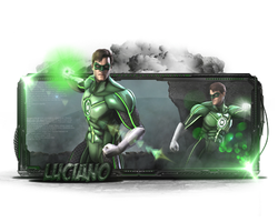 Green Lantern by Luciano246BR