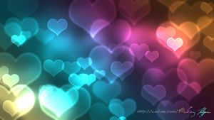 Hearts Bokeh by MikeyG8