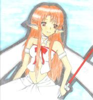 Asuna from SAO by Jackstar-D
