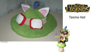 Teemo Hat League of Legends by PlushWorkshop