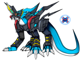 raidramon X-antibody by dragonnova52