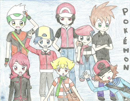 Pokemon Game Boys by Crayon-Dust