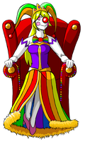 Queen Margaret Cirque I (Royalty OC) by TF-Circus