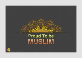 proud to be Muslim by bakerGFXislamicDSner