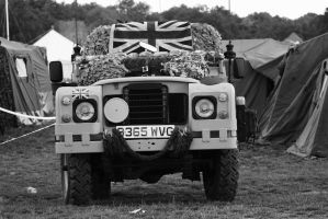 Land Rover Military Truck by Stolzer