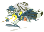 Sly Cooper by Themrock