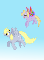 Flying with Mommy by bibliodragon