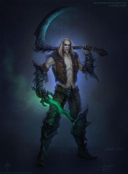 Necromancer Xul concept by FirstKeeper