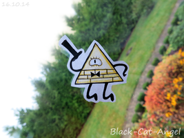 Triangle guy by Black-Cat-Angel