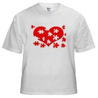 Heart Puzzle by BizarreTShirts
