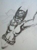 New52 Batgirl WIP.1 by Bent-Lantern