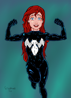 Ariel Ultimate Strength #2 by DeathStrokeAC
