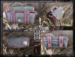 Pouch mark2 by LeatherCraft