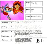 Word Girl Report Card by mlp-vs-capcom