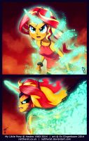 MLP EQG - You're Never Gonna Bring Me Down by nattherat