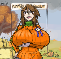 Pumpkin Contest by Kenj