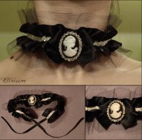 Rocaille Choker by elixiumgothic