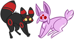 [OPEN] Eeveelution Adopts by MiqotesosAdopts