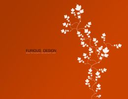 FuriousDesign Wallpaper orange by furiousart