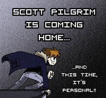 Scott Pilgrim is coming home by DJFry