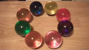 The Eight Darkwield Powers (Glass Ball Craft) by RapierMedia