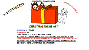 christmas Special MYSTERY Commission OPEN by ShadowtailsDerol