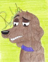 Art Request: Ralph from Pound Puppies by Miss-Whoa-Back-Off