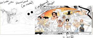 Future work previews ~ Mono-Land WIP AT part by Opirou