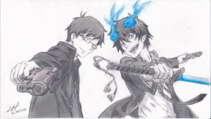 Ao no Exorcist by SamAnimeMangaFR