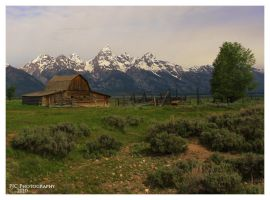 Mormon row by PeterJCoskun