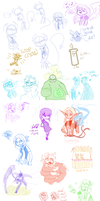 Livestream Doodles 3 by Shainbow