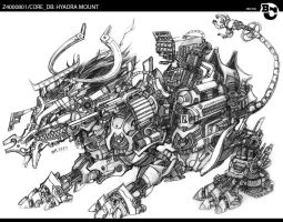 Z4000801/CORE_DB: HYADRA BEAST by Rhoophelia