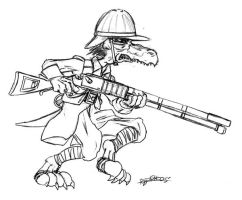 Kobold Rifleman by CommissarKinyaf
