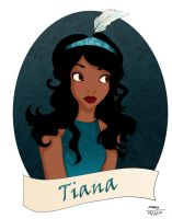 Tiana in teal by Noxmoony